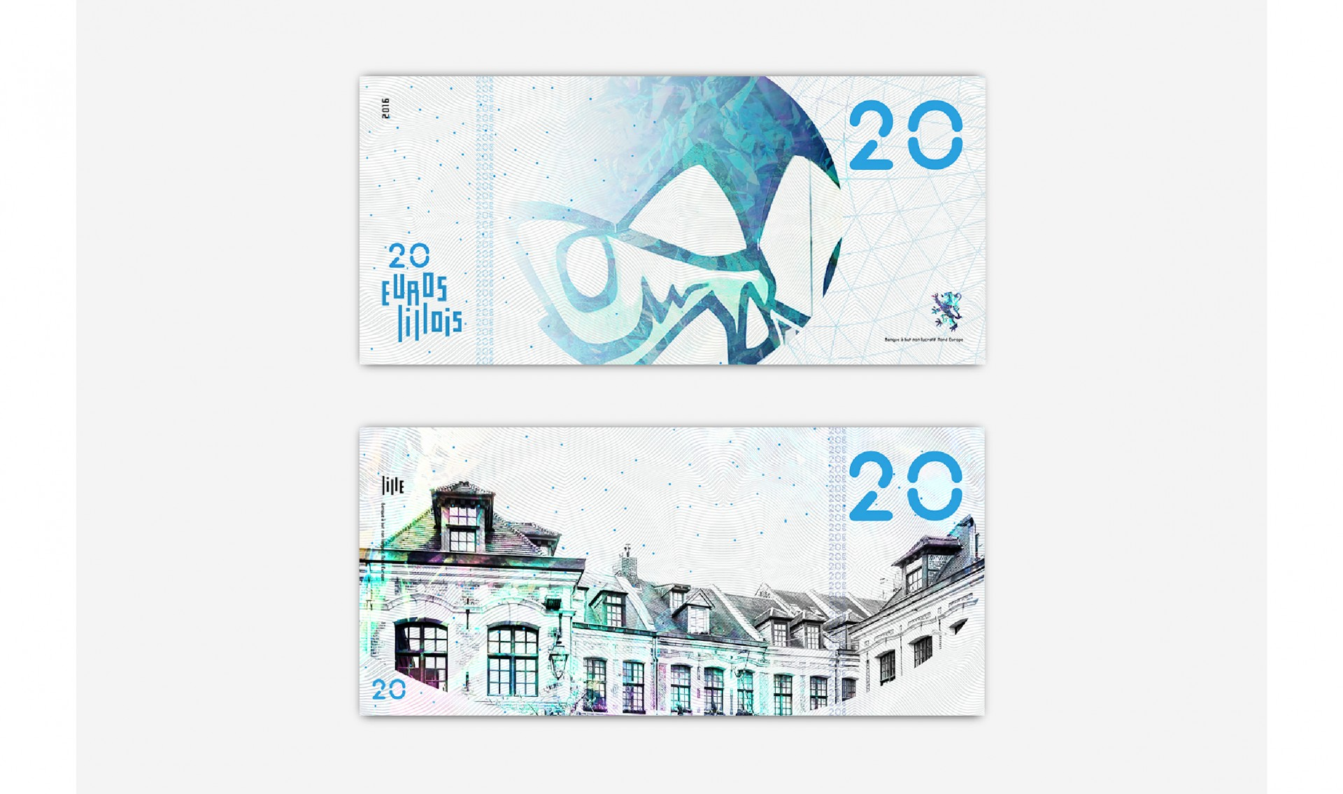 Édouard Spriet EUROS LILLOIS | BRANDING