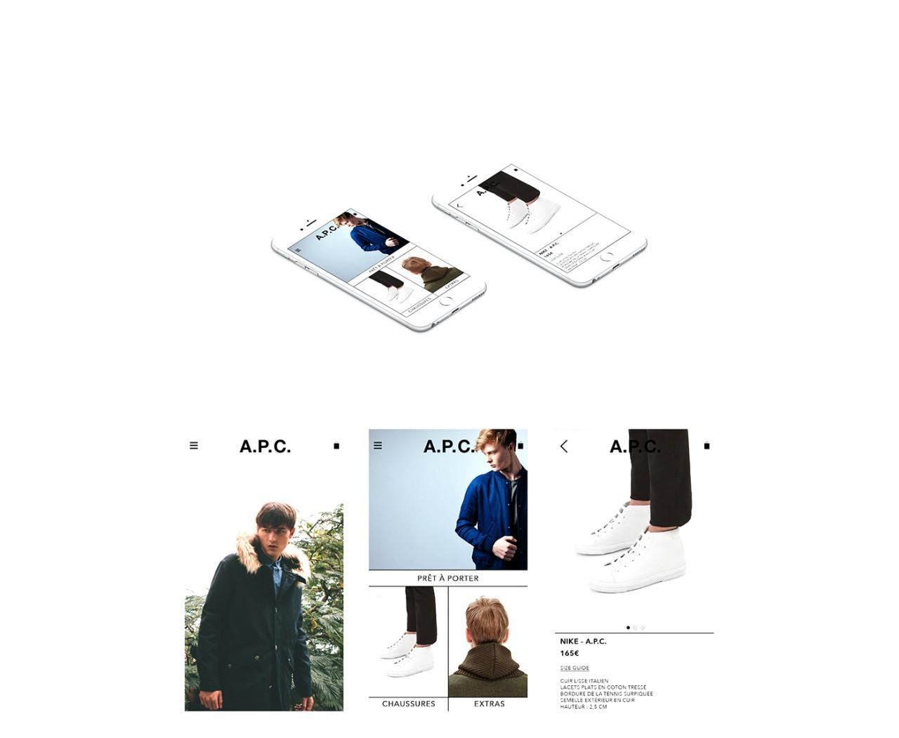 A.P.C. | WEB DESIGN