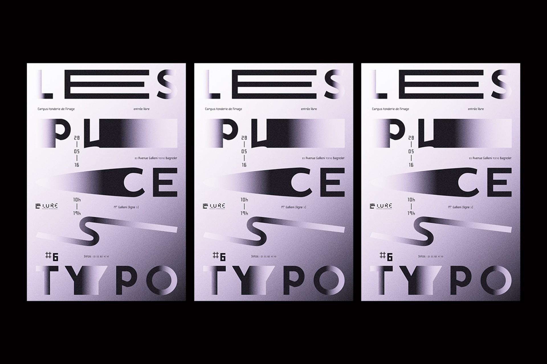 Édouard Spriet LES PUCES TYPO | BRANDING